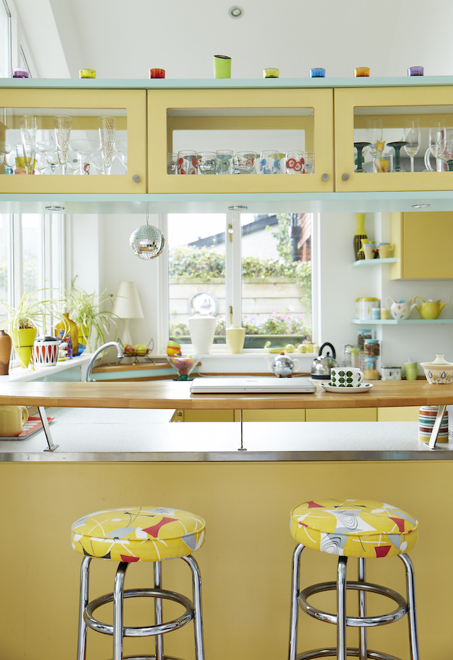 The kitchen of Geoff Kirk, owner of Kirkmodern. Photograph Simon Watson