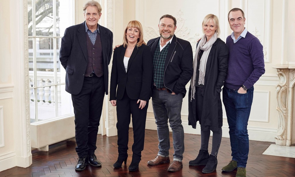 The Cold Feet cast in 2016.