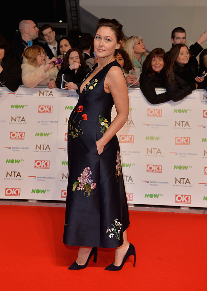 LONDON, ENGLAND - JANUARY 20: Emma Willis attends the 21st National Television Awards at The O2 Arena on January 20, 2016 in London, England. (Photo by Anthony Harvey/Getty Images)