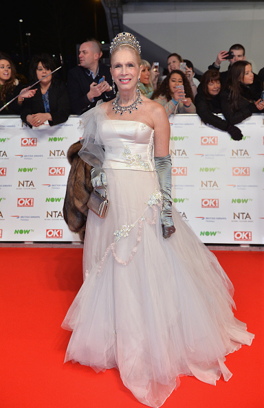 LONDON, ENGLAND - JANUARY 20: Lady Colin Campbell attends the 21st National Television Awards at The O2 Arena on January 20, 2016 in London, England. (Photo by Anthony Harvey/Getty Images)