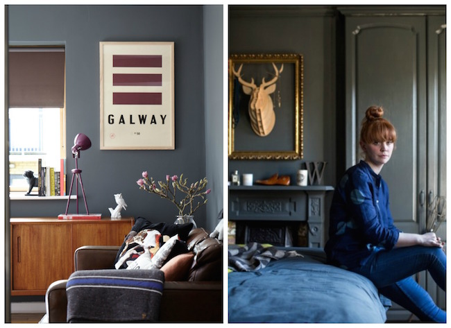 5 Ways Dark Walls Work in a Small Space | Image Interiors & Living