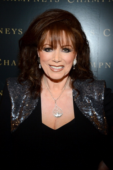 """BEVERLY HILLS, CA - MAY 04: Jackie Collins attends BritWeek """"An Evening With Piers Morgan, In Conversation With Jackie Collins"""" benefiting Children's Hospital Los Angeles at the Beverly Wilshire Four Seasons Hotel on May 4, 2012 in Beverly Hills, California. (Photo by Frazer Harrison/Getty Images For Champneys For BritWeek)"""