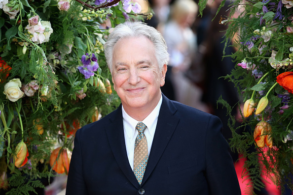 LONDON, ENGLAND - APRIL 13: Director and actor Alan Rickman attends the UK premiere of