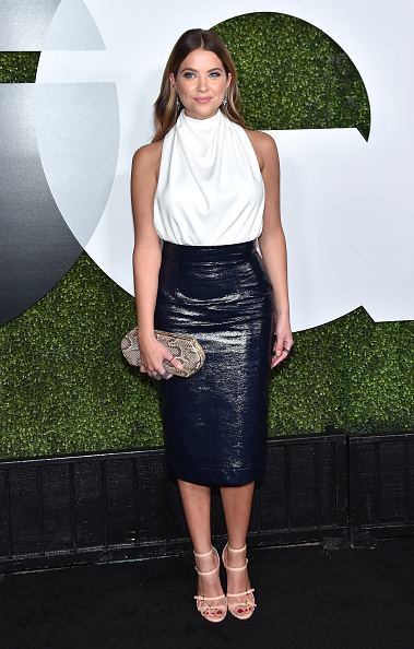 Ashley Benson attends the GQ 20th Anniversary Men Of The Year Party at Chateau Marmont on December 3, 2015 in Los Angeles, California.