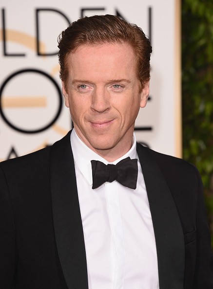 Actor Damian Lewis attends the 73rd Annual Golden Globe Awards, 2016