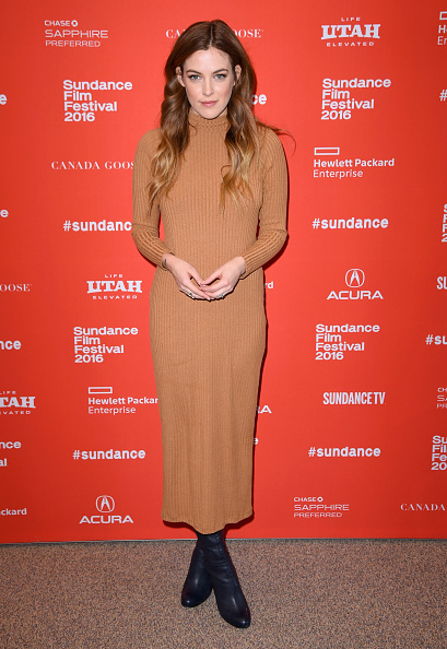 """PARK CITY, UT - JANUARY 25: Riley Keough attends """"Lovesong"""" Premiere during the 2016 Sundance Film Festival at Eccles Center Theatre on January 25, 2016 in Park City, Utah. (Photo by Nicholas Hunt/Getty Images for Sundance Film Festival)"""