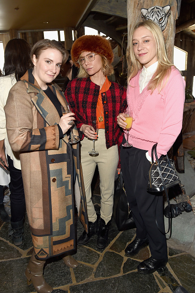 PARK CITY, UT - JANUARY 26: (L-R) Lena Dunham, Lily Baldwin and Chloe Sevigny attend Glamour's Women Rewriting Hollywood Lunch at Sundance Hosted By Lena Dunham, Jenni Konner and Cindi Leive on January 26, 2016 in Park City, Utah. (Photo by Jason Merritt/Getty Images for Glamour)