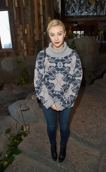 PARK CITY, UT - JANUARY 26: Actress Sarah Gadon attends Glamour's Women Rewriting Hollywood Lunch at Sundance Hosted By Lena Dunham, Jenni Konner and Cindi Leive on January 26, 2016 in Park City, Utah. (Photo by Jason Merritt/Getty Images for Glamour)