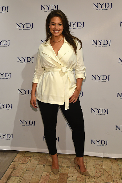 NEW YORK, NY - JANUARY 28: Model Ashley Graham attends the NYDJ 2016 Fit To Be Campaign Launch at Lord & Taylor on January 28, 2016 in New York City. (Photo by Ben Gabbe/Getty Images)