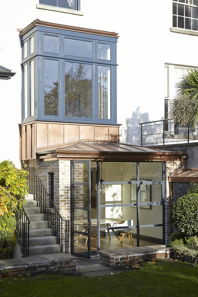 A Sophisticated Copper Kitchen Extension in Ballsbridge | Image: Mark Scott