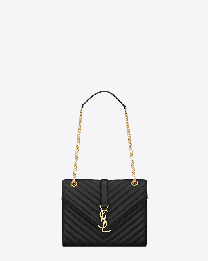 Saint Laurent Monogram Shoulder Bag, €1,190.00, FarFetch.com