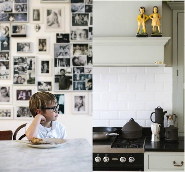 Left: Oscar. Right: Dansk earthenware.
