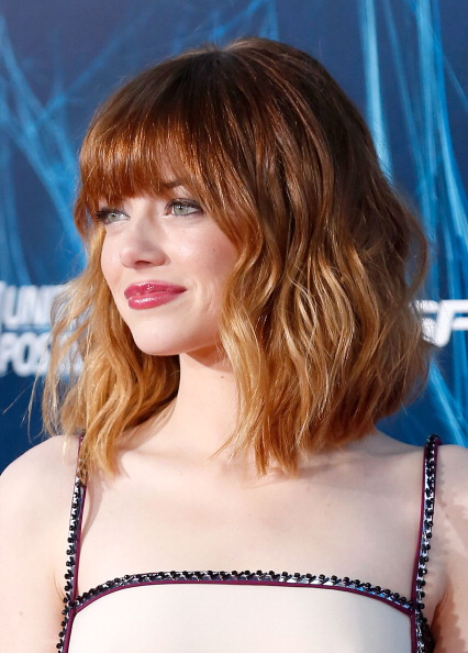 "NEW YORK, NY - APRIL 24: Actress Emma Stone attends ""The Amazing Spider-Man 2"" premiere at the Ziegfeld Theater on April 24, 2014 in New York City. (Photo by Jemal Countess/Getty Images)"