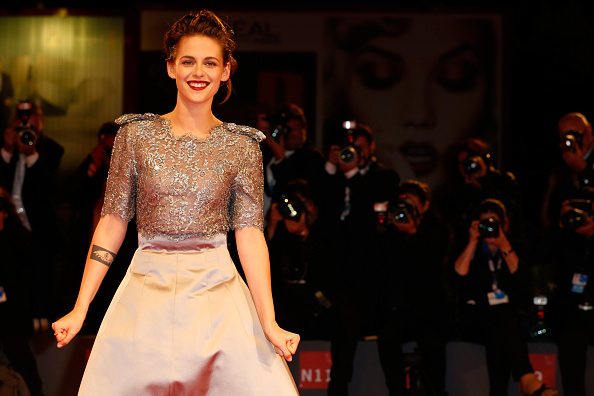 kristen stewart attends the premiere of'Equals' during the 72nd Venice Film Festival at the Sala Grande on September 5, 2015 in Venice, Italy.