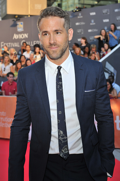 """TORONTO, ON - SEPTEMBER 16: Actor Ryan Reynolds attends the """"Mississippi Grind"""" premiere during the 2015 Toronto International Film Festival at Roy Thomson Hall on September 16, 2015 in Toronto, Canada. (Photo by Sonia Recchia/Getty Images)"""