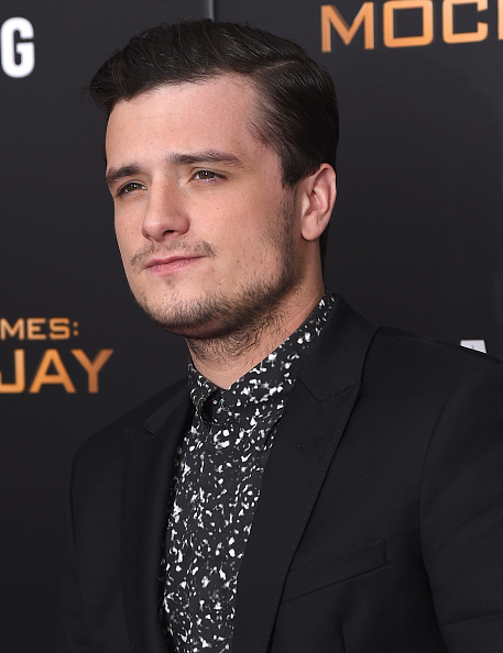 """NEW YORK, NY - NOVEMBER 18: Josh Hutcherson attends """"The Hunger Games: Mockingjay- Part 2"""" New York Premiere at AMC Loews Lincoln Square 13 theater on November 18, 2015 in New York City. (Photo by Michael Loccisano/Getty Images)"""