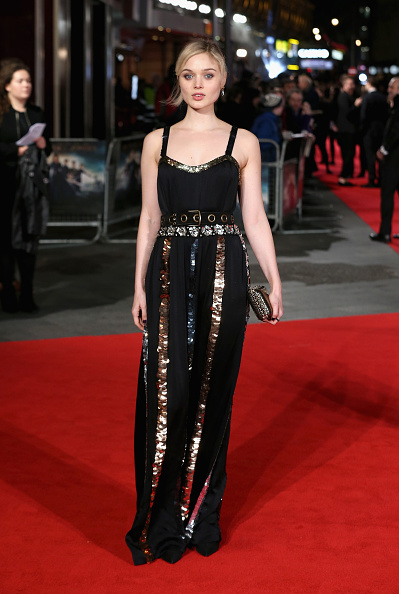 """LONDON, ENGLAND - FEBRUARY 01: Bella Heathcote attends the European premiere of """"Pride And Prejudice And Zombies"""" at Vue West End on February 1, 2016 in London, England. (Photo by Chris Jackson/Getty Images)"""