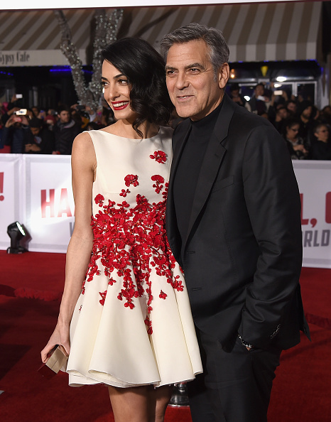 """attends Universal Pictures' """"Hail, Caesar!"""" premiere at Regency Village Theatre on February 1, 2016 in Westwood, California."""