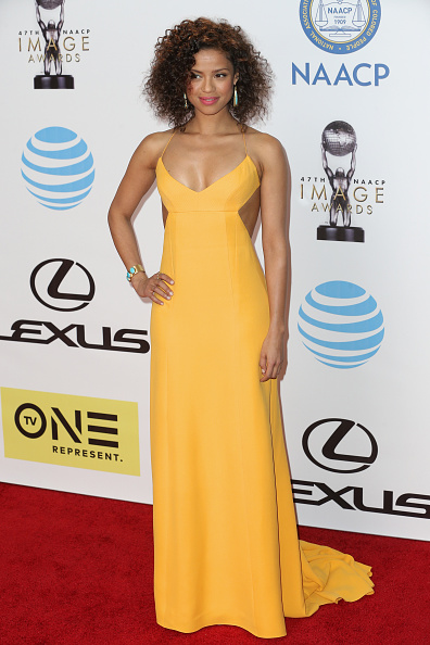 PASADENA, CA - FEBRUARY 05: Actress Gugu Mbatha-Raw attends the 47th NAACP Image Awards presented by TV One at Pasadena Civic Auditorium on February 5, 2016 in Pasadena, California. (Photo by Imeh Akpanudosen/Getty Images for NAACP Image Awards)