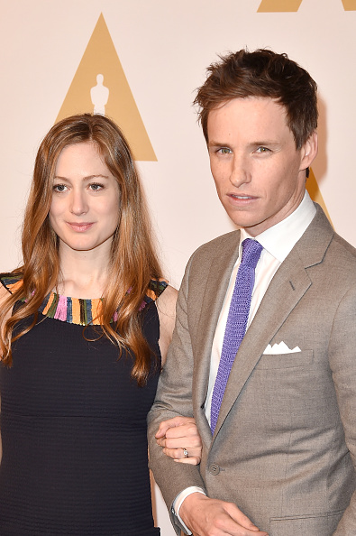 BEVERLY HILLS, CA - FEBRUARY 08: Hannah Bagshawe (L) and actor Eddie Redmayne attend the 88th Annual Academy Awards nominee luncheon on February 8, 2016 in Beverly Hills, California. (Photo by Kevin Winter/Getty Images)