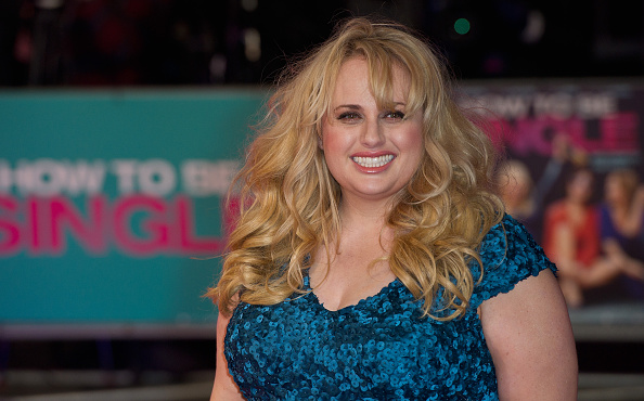Rebel Wilson attends the European Premiere of 'How To Be Single' at Vue West End on February 9, 2016 in London, England. (Photo by Eamonn M. McCormack/Getty Images)