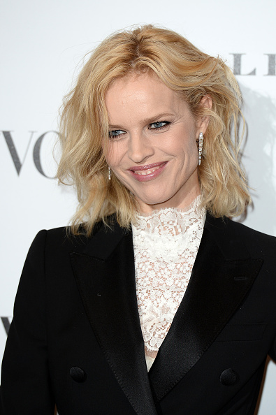 LONDON, ENGLAND - FEBRUARY 09: Eva Herzigova attends at Vogue 100: A Century Of Style at the National Portrait Gallery on February 9, 2016 in London, England. (Photo by Jeff Spicer/Getty Images)