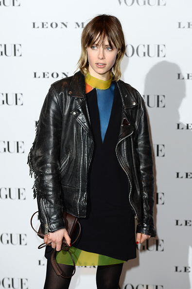 LONDON, ENGLAND - FEBRUARY 09: Edie Campbell attends at Vogue 100: A Century Of Style at the National Portrait Gallery on February 9, 2016 in London, England. (Photo by Jeff Spicer/Getty Images)