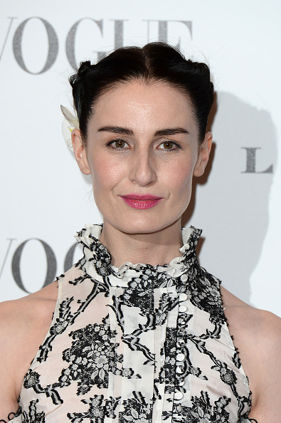 LONDON, ENGLAND - FEBRUARY 09: Erin O'Connor attends at Vogue 100: A Century Of Style at the National Portrait Gallery on February 9, 2016 in London, England. (Photo by Jeff Spicer/Getty Images)