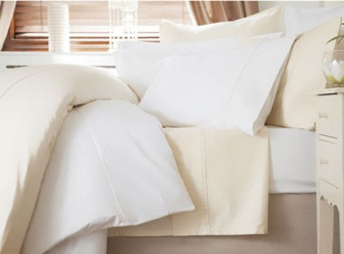 Belledorm 600 Thread Count Cotton Sateen Coordinated Bedding White From €20
