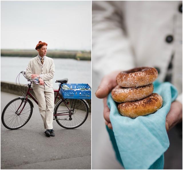 Daniel Rosen and his BoyChik doughnuts