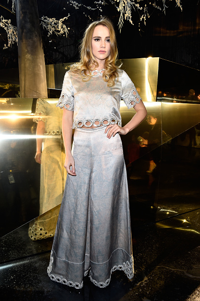 PARIS, FRANCE - MARCH 02: Suki Waterhouse attends the H&M show as part of the Paris Fashion Week Womenswear Fall/Winter 2016/2017 on March 2, 2016 in Paris, France. (Photo by Pascal Le Segretain/Getty Images)