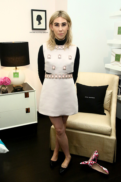 """NEW YORK, NY - MARCH 22: Actress Zosia Mamet attends Kate Spade New York """"Housewarming"""" in celebration of the brand's home pop-up shop at Kate Spade New York Home Pop-Up Shop on March 22, 2016 in New York City. (Photo by Astrid Stawiarz/Getty Images for Kate Spade New York)"""