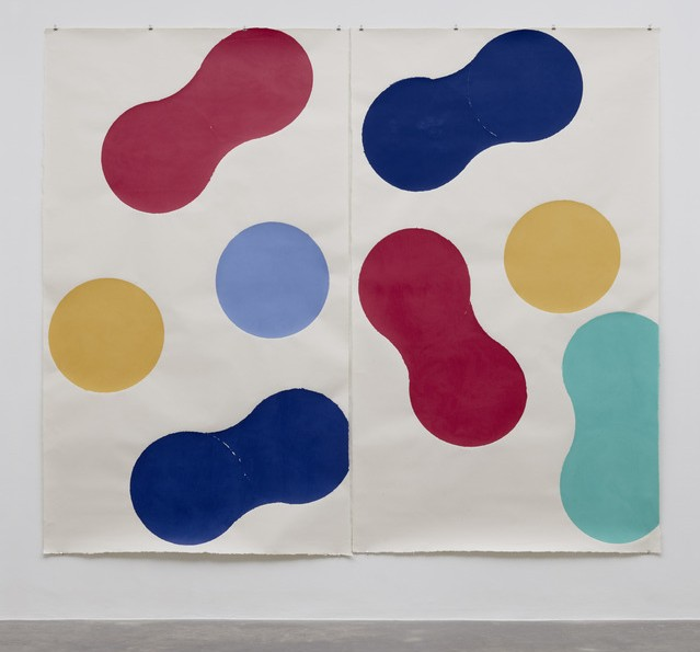 The Abstract Artist We're Emulating this Spring/Summer   Richard Gorman's Iwano Series II, 2015. 275 x 320 cm