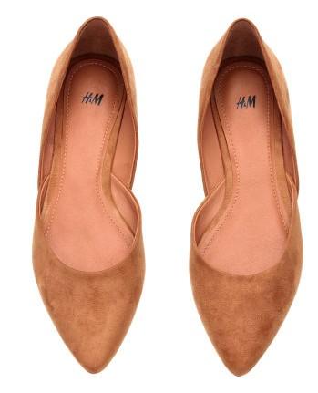Ballet pumps - 19.99 H&M