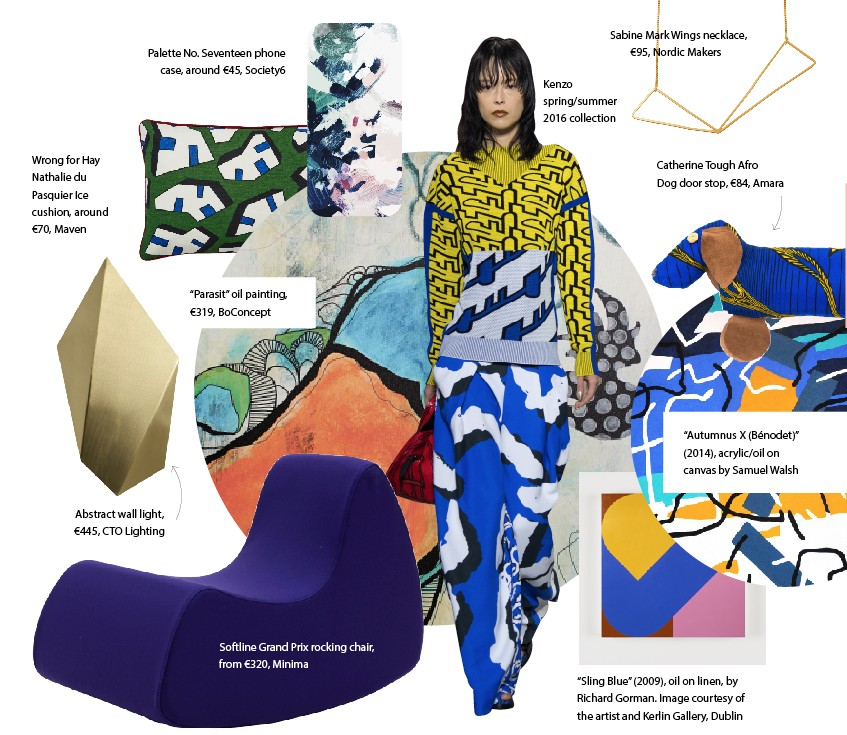 The Abstract Artist We're Emulating this Spring/Summer   Image.ie