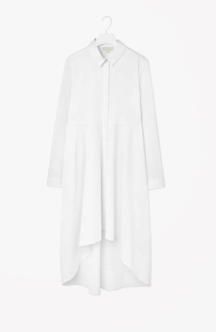 Graduated shirt dress, €89 COS