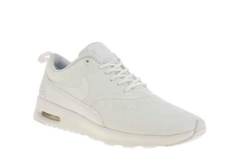 womens Nike white air max thea trainer €113