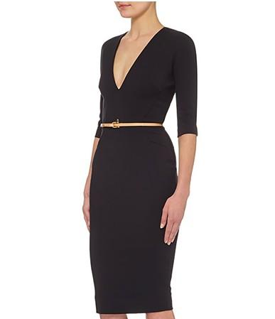 VICTORIA BECKHAM Fitted V-Neck Dress €1335.00, BTs