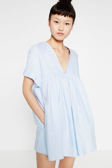LOW-CUT JUMPSUIT DRESS Zara €29.95