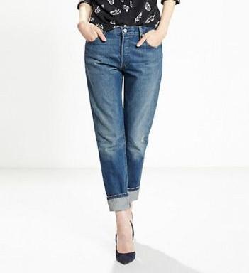 Levis Ladieswear 501CT Jeans Blue €100.00
