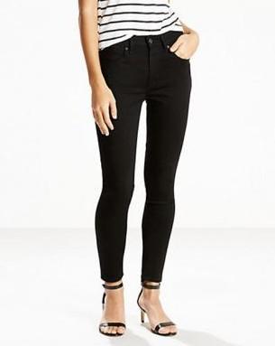 Levis Ladieswear 721 High Rise Skinny Jeans Black €105.00