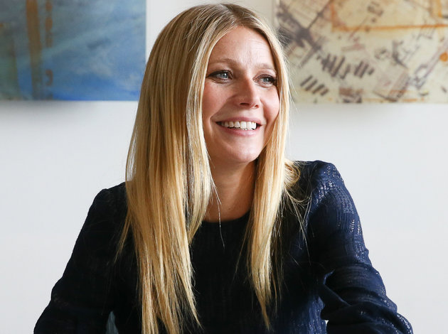 NASHVILLE, TN - FEBRUARY 12: Gwyneth Paltrow signs her book'It's all Good' during the the 2016 Antiques And Garden Show Of Nashville at Music City Center on February 12, 2016 in Nashville, Tennessee. (Photo by Terry Wyatt/Getty Images)