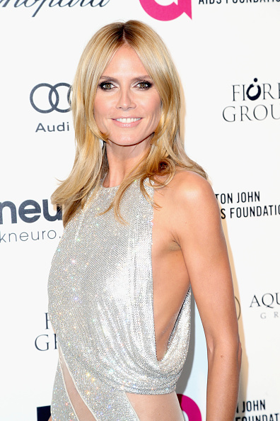 WEST HOLLYWOOD, CA - FEBRUARY 22: Heidi Klum attends the 23rd Annual Elton John AIDS Foundation's Oscar Viewing Party on February 22, 2015 in West Hollywood, California. (Photo by Frederick M. Brown/Getty Images)