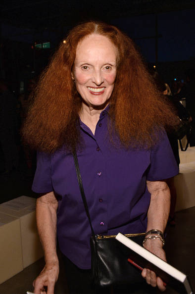 NEW YORK, NY - SEPTEMBER 16: Grace Coddington attends the Proenza Schouler Spring 2016 fashion show during New York Fashion Week on September 16, 2015 in New York City. (Photo by Ben Gabbe/Getty Images)