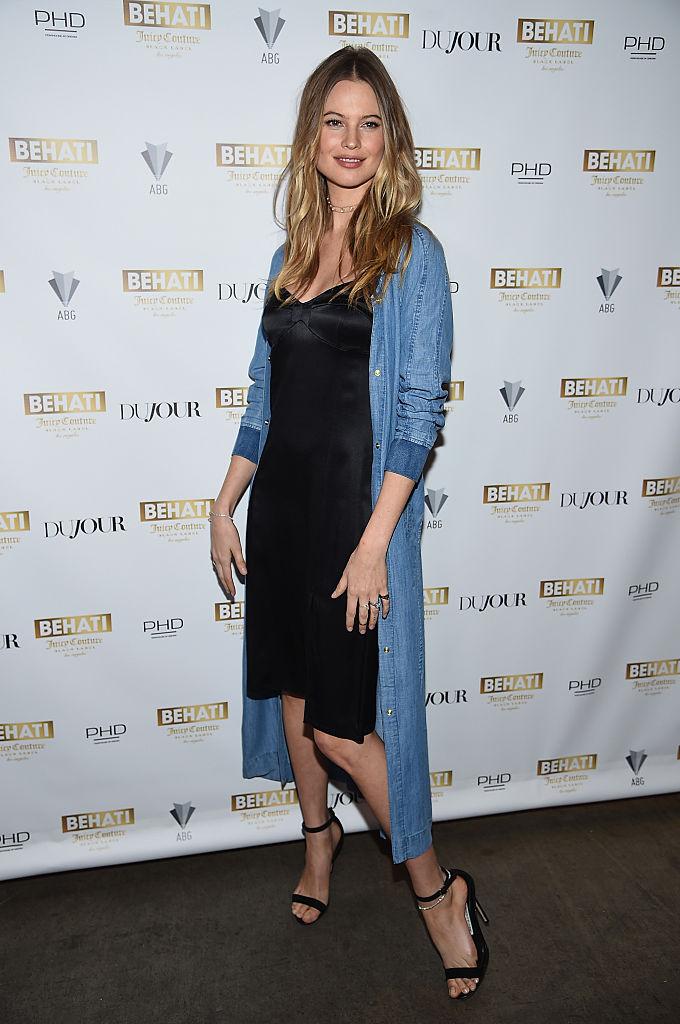 Supermodel Behati Prinsloo Celebrates The Launch Of Behati Juicy Couture Black Label