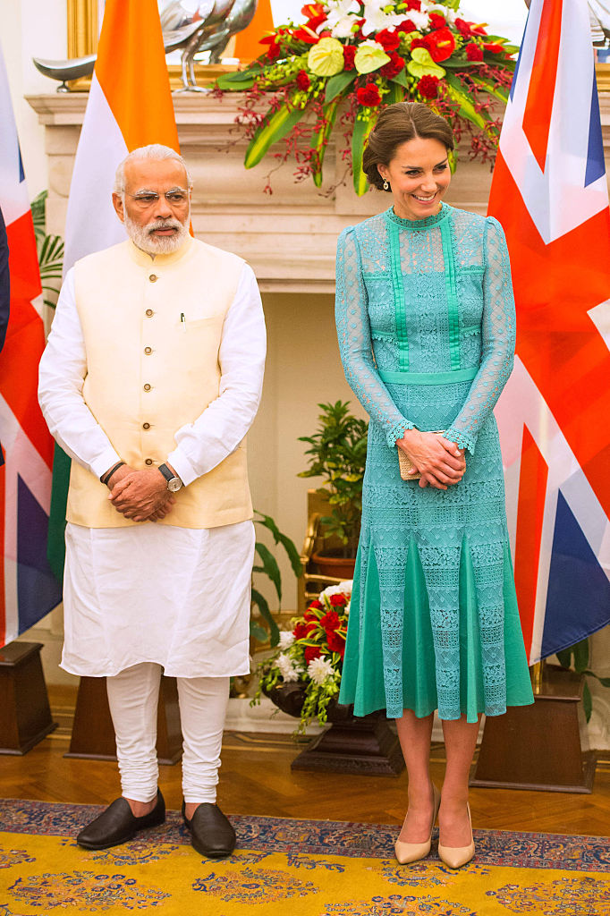 The Duke And Duchess Of Cambridge Visit India And Bhutan - Day 3