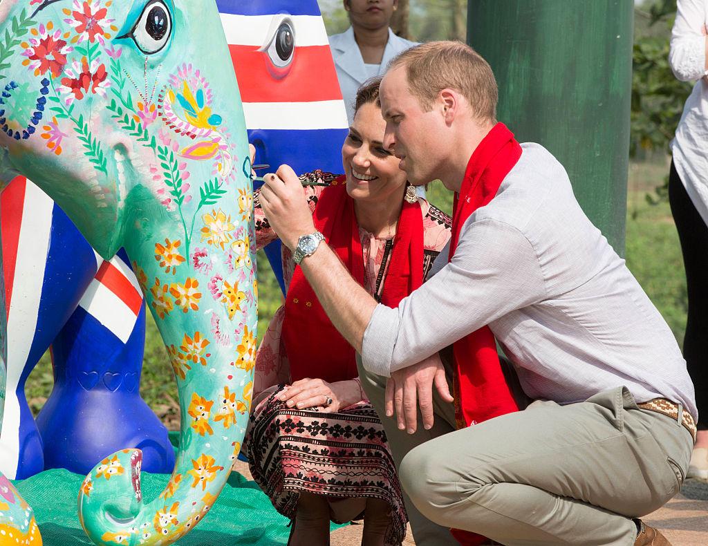 The Duke and Duchess Of Cambridge Visit India and Bhutan - Day 4