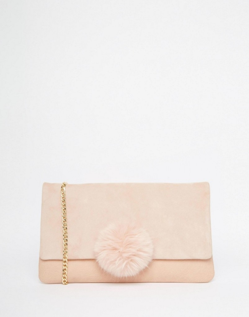 Dune Clutch Bag With Pom Detail €83.10