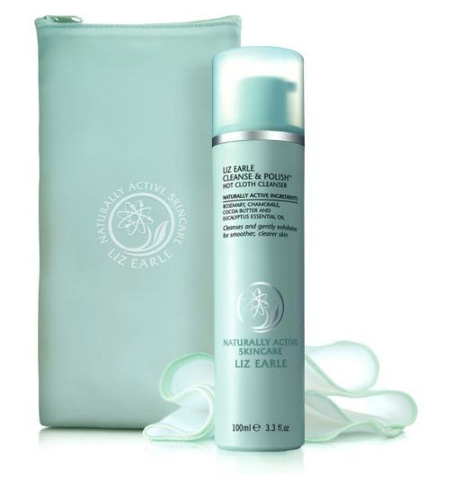 liz-earle-cleanse-polish-hot-cloth-cleanser with bag