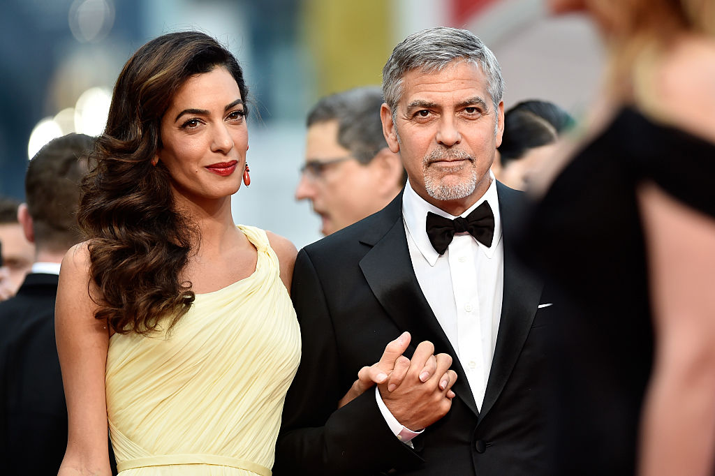 "CANNES, FRANCE - MAY 12: Actor George Clooney and his wife Amal Clooney attend the ""Money Monster"" premiere during the 69th annual Cannes Film Festival at the Palais des Festivals on May 12, 2016 in Cannes, France. (Photo by Pascal Le Segretain/Getty Images)"
